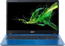 "Ноутбук Acer Aspire A315-54K-33LF Core i3 7020U, 8Gb, 1Tb, Intel HD Graphics 620, 15.6"", FHD (1920x1080), Linux, blue, WiFi, BT, Cam"