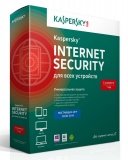 ПО Антивирус Kaspersky Internet Security 5-Desktop 1 year Base Box KL1941RBEFS