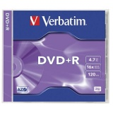 Диск DVD+R Verbatim 4.7Gb 16x Jewel case