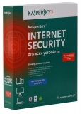 ПО Антивирус Kaspersky Internet Security 3-Device 1 year Base Box KL1941RBCFS